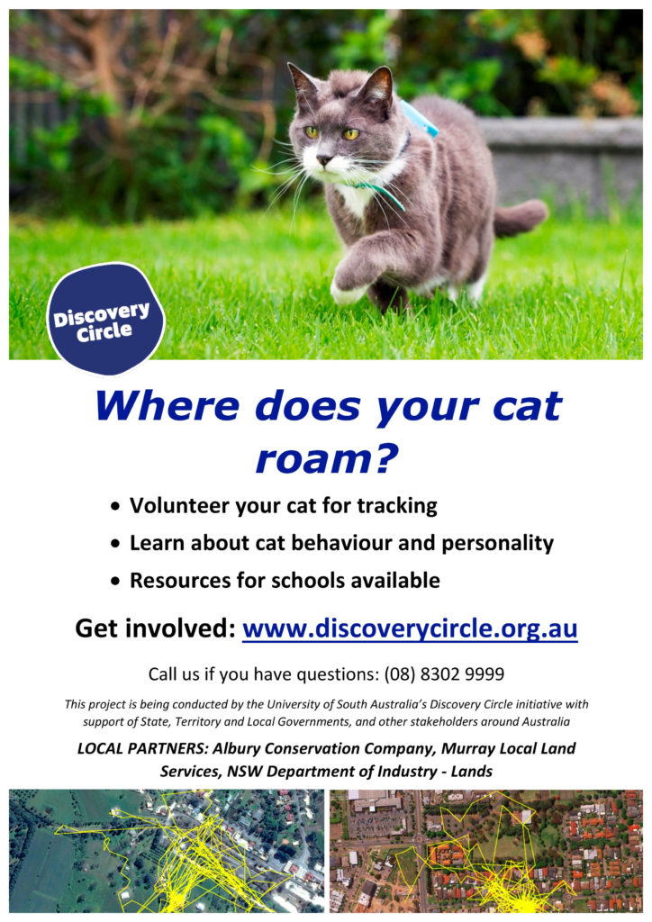 POSTER_Cat Tracker Australia_Albury version