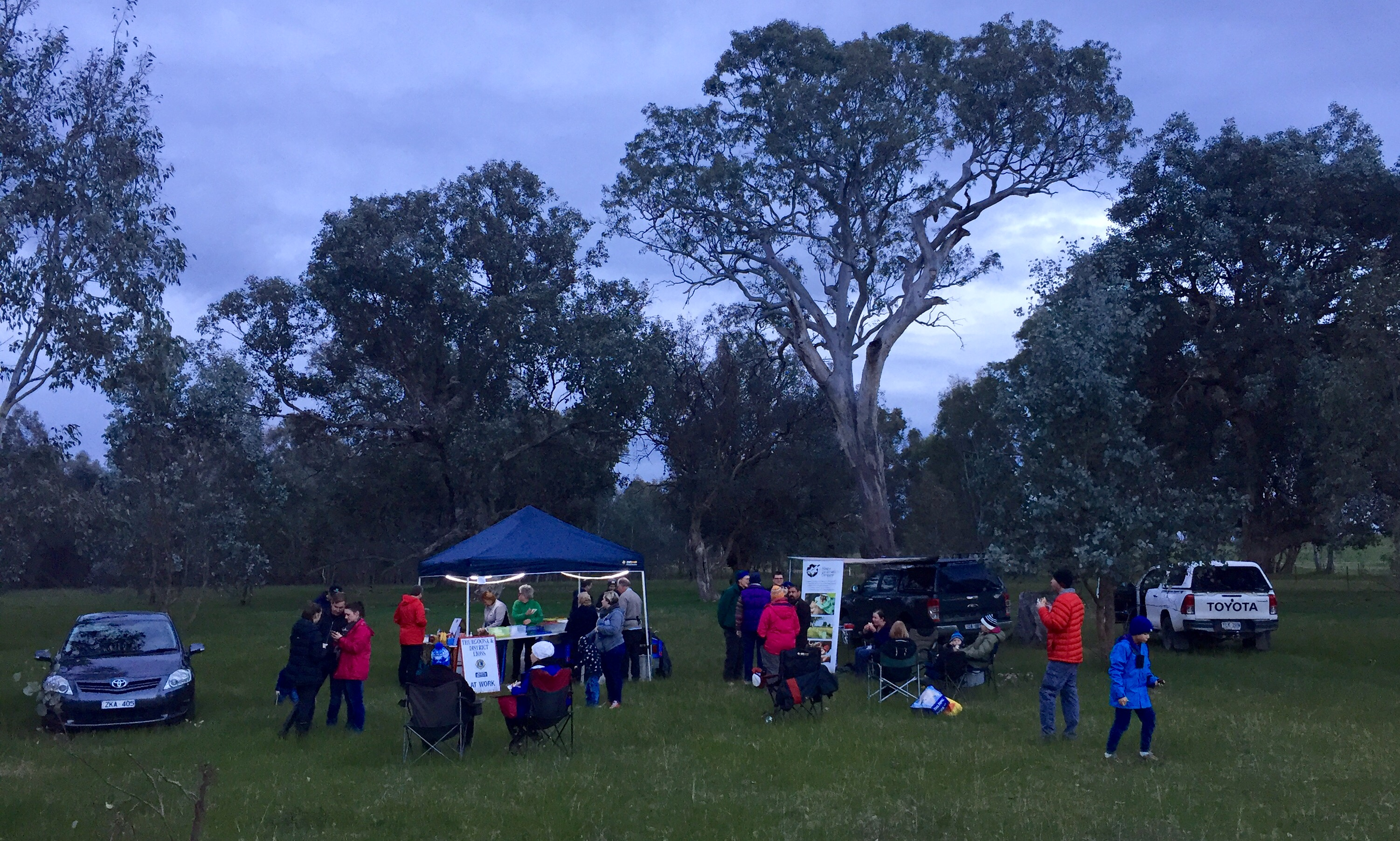 80 community members attended two spotlighting nights hosted by Albury Conservation Company during 2018